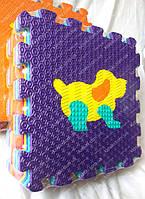 Массажный напольный коврик пазл Животные   2