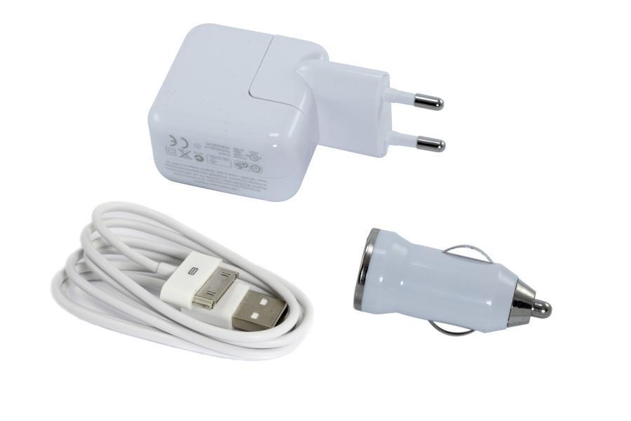 Зарядное устройство для смартфонов APPLE 3-in-1 10W для iPhone 4/4S