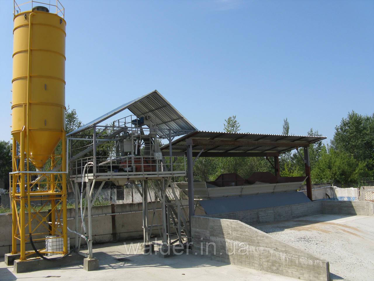 Бетоносмесительная установка производительностью 30 м.куб./ч (БСУ-30к)