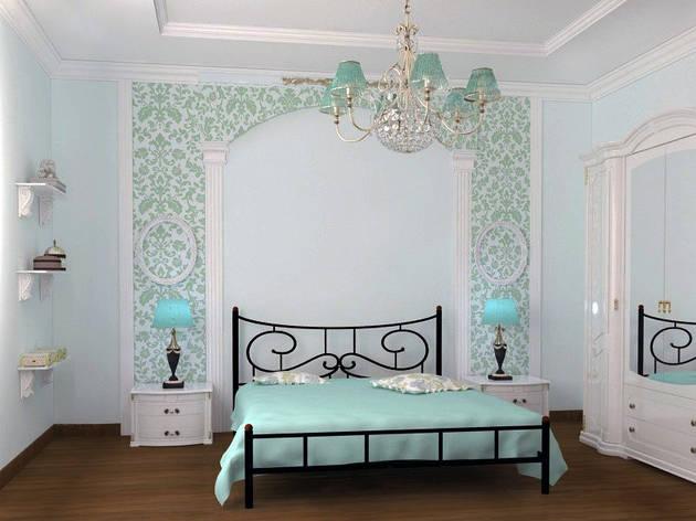 Металлическая кровать Ювента ТМ Скамья, фото 2