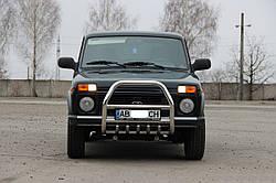 Кенгурятник QT007-2 Lada NIVA 85+