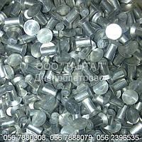 Заклепка алюминиевая с потайной головкой от Ø3 до Ø10, ГОСТ 10300-80, DIN 302, DIN 661, ISO 1051