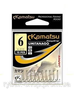 Крючки Kamatsu K-010 Umitanago, BLN