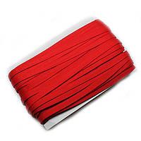 Резинка для бретель 1 см. (боб 45 м.)-красный.
