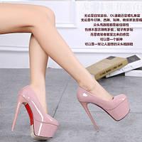 Новинка  туфли на каблуке 14-16 см каблук шпилька