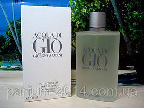 Чоловіча туалетна вода Giorgio Armani Acqua di Gio pour homme 200 ml (репліка)