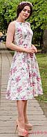 Женское летнее миди платье