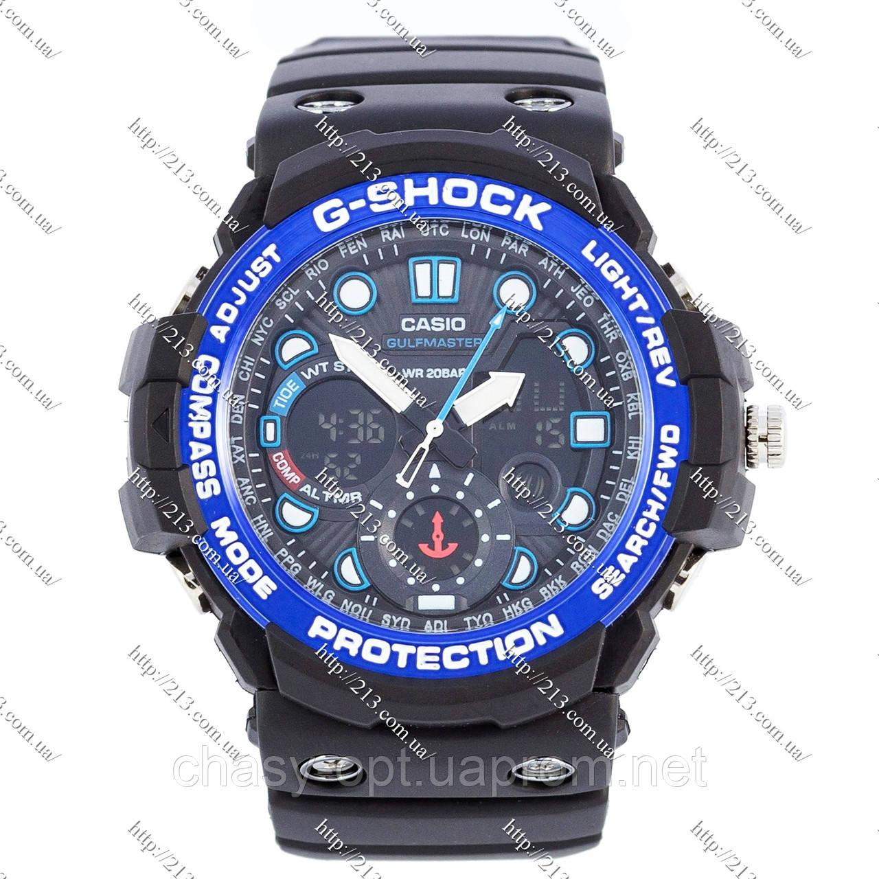 Копия часов Casio G-Shock Gulfmaster Blue - Интернет-магазин часов 213.com.ua в Киеве