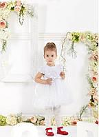 Детское пышное нарядное платье на 1-2 годика.