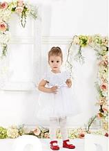 Детское нарядное платье на 1-2 годика рост 86-104