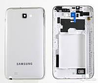Корпус для телефона Samsung N7000 белый с рамкой корпуса