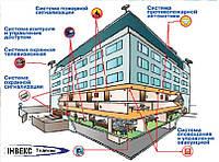 Монтаж  системы охранной сигнализации предприятия