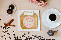 """Шоколадная медаль """"С любовью"""". Шоколад с признание в любви. Подарок любимым."""