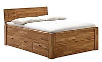 Кровать из массива дерева 034