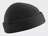 Шапка тактическая флисовая Helikon-Tex® Watch Cap - Черная, фото 1