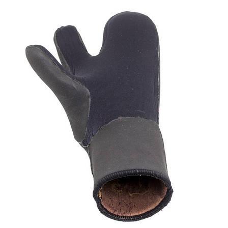 Перчатки камуфлированные Marlin Nord Oliva 7мм, фото 2