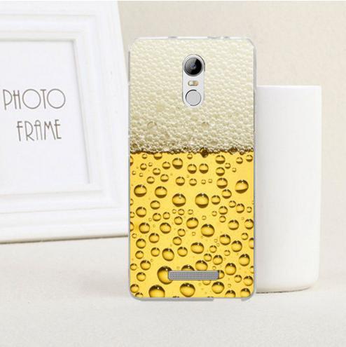Силіконовий чохол накладка для Xiaomi Redmi Note 3 з картинкою пиво