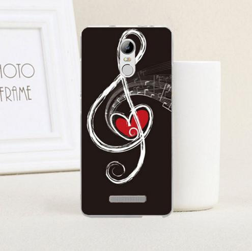 Силиконовый чехол накладка для Xiaomi Redmi Note 3 с картинкой скрипичный ключ