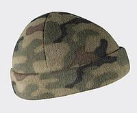 Шапка тактическая флисовая Helikon-Tex® Watch Cap - PL Woodland, фото 1