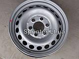 Диск колесный MB Sprinter 208-319/Crafter 30-35, 06- (6,50Jx16 H2 ET62), фото 2