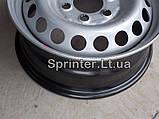 Диск колесный MB Sprinter 208-319/Crafter 30-35, 06- (6,50Jx16 H2 ET62), фото 5