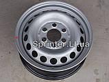 Диск колесный MB Sprinter 208-319/Crafter 30-35, 06- (6,50Jx16 H2 ET62), фото 3