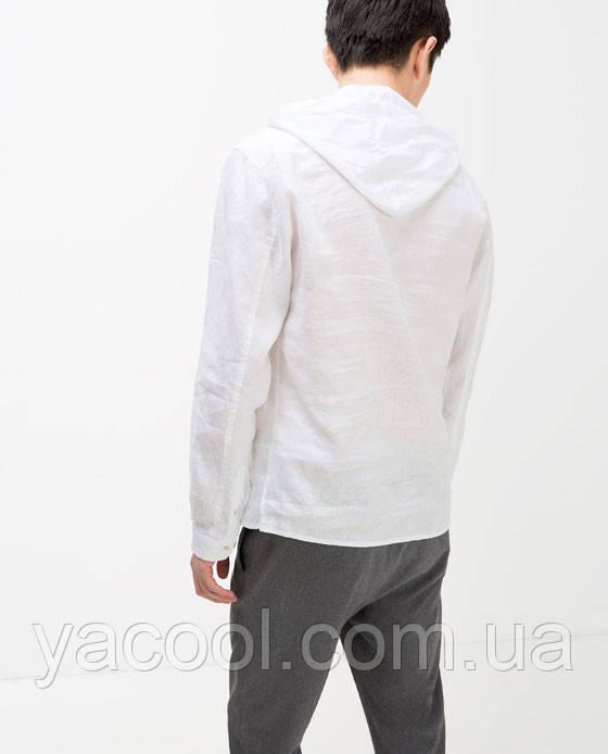мужская рубашка для моря с капюшоном
