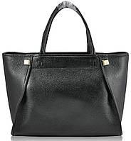 Женская кожаная сумка 9902 черная