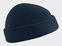 Шапка тактическая флисовая Helikon-Tex® Watch Cap - Темно-синяя