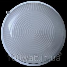 Светильник баня-сауна НББ 60вт IP54 Е27 круг белый ST-295