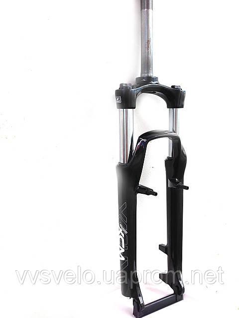 Велосипедная Вилка  Suntour SF-13-XCM-P-26-100 с резьбой 25,4 черная
