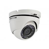 Hikvision DS-2CE56C0T-IRM (3.6 мм) - уличная купольная Turbo HD видеокамера, разрешение 2Мп, ИК подсветка 20м.