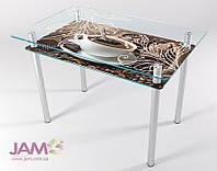 Стол кухонный стеклянный КТ-01