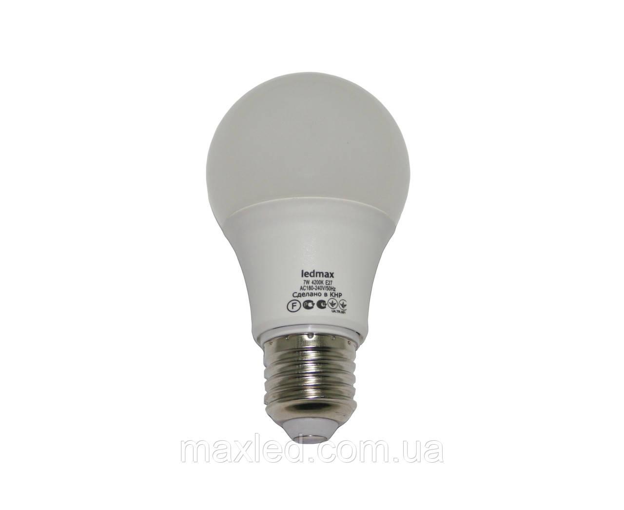 Светодиодная лампа  7Вт BULB7W E27 4200K