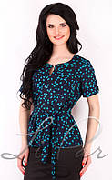 Легкая женская блуза из штапеля 2061