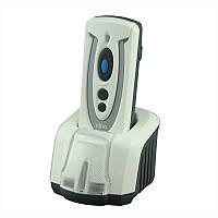 Беспроводной 1D и 2D сканер штрих-кодов Cino PF680 BT Smart Cradle Kit USB серый с подставкой