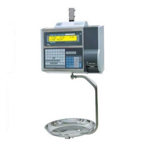 Весы торговые DIGI SM-500 MK4 H 15 кг с печатью, фото 2