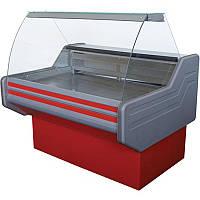 Морозильная витрина Айстермо ВХН ЭЛЕГИЯ 1.3 (-12...-15°С, 1300х1000х1200 мм, гнутое стекло)