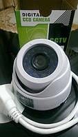 Купольная IP камера видео наблюдения. 720р