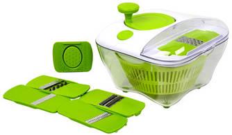 Овощерезка-мойка-сушка для овощей и зелени Salad All in one