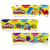 Play-Doh Набор для творчества из 4 баночек (в ассорт.) Hasbro