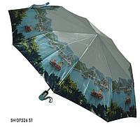 Зонт женский полуавтомат SH 07526 ST Dark Blue
