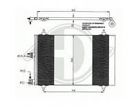 Радиатор кондиционера 1.4-1.9D Berlingo/Partner 96-08 не оригинал