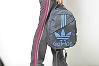 Рюкзак темно-серый Adidas, Адидас, ф1148