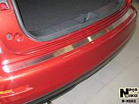Накладка на бампер Nissan JUKE 2010- / Ниссан Жук