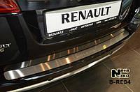 Накладка на бампер Renault KOLEOS 2008- / Рено Колеус