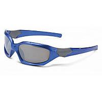Очки детские 'Maui' SG-K01 оправа голубая, отражающие линзы