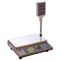 Весы торговые ПРОМПРИБОР ВТА-60\15-5-А с RS232 до 15 кг