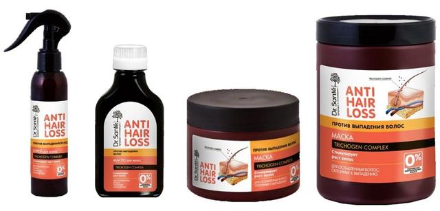 Серия Dr.Sante против выпадения волос Anti Hair Loss