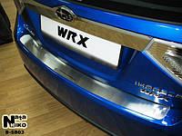 Накладка на бампер Subaru IMPREZA III 2007- / Субару Импреза